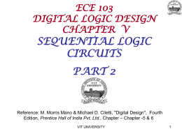 ECE 103 DIGITAL LOGIC DESIGN