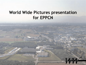 World Wide Presentation for EPPCN