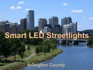 State of Streetlighting
