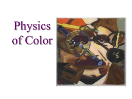 PhysicsOfColor
