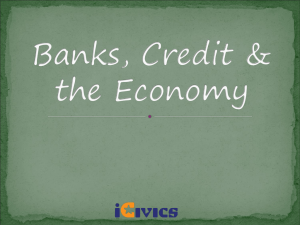 Banks and Credit ppt