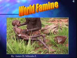 World Famine
