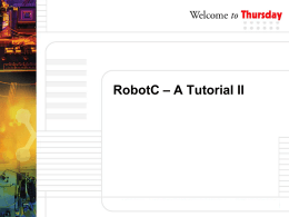 ROBOTC FEATURES