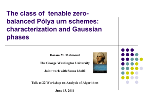 The class of tenable zero-balanced Polya urn schemes