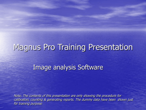 Magnus-Pro Training Presentation