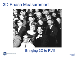 3D Phase Measurement