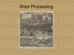Wool Processing