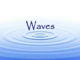 Waves Pretest