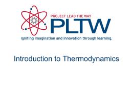 Thermodynamics - Delano Public Schools