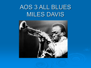 AOS 3 KIND OF BLUE MILES DAVIS