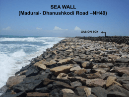 GABION BOX SEA WALL (Madurai