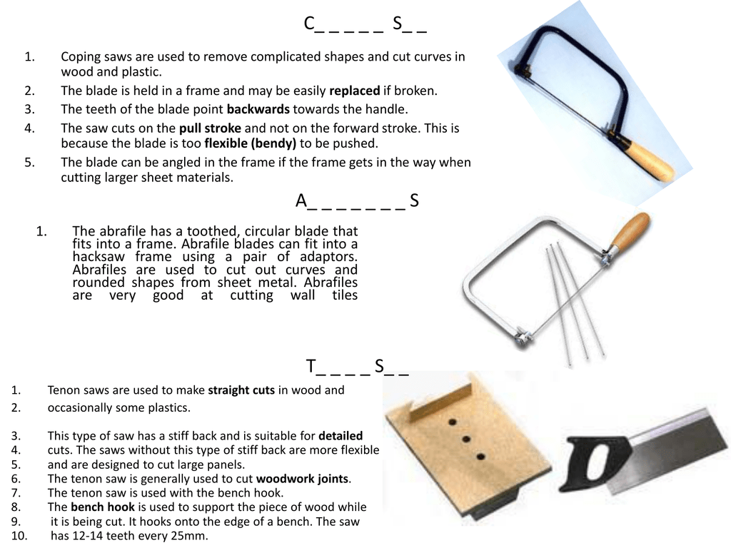 Information About Tools