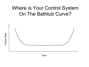 The Bathtub Curve - Permenter Controls Services