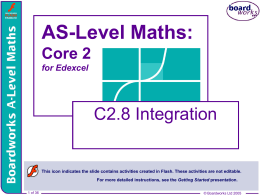 C2.8 Integration - Heathcote School