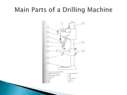 Drilling and Reaming