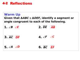 Holt Geometry 4-2