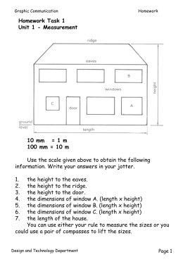 9 4 Isometric Orthographic And Foundation Drawings Lesson
