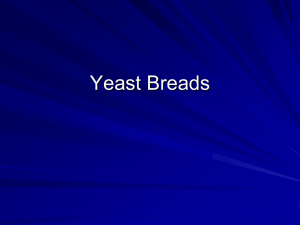 Yeast breads - Marblehead High School