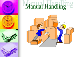 MANUAL HANDLING PPT - CaspianExplorer.com