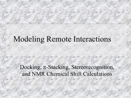 Modeling Remote Interactions