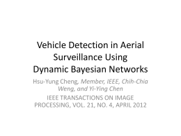 Vehicle Detection in Aerial Surveillance Using Dynamic Bayesian