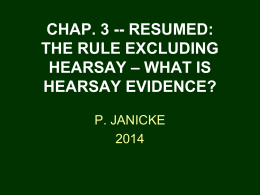 Chap. 3 (resumed) - University of Houston Law Center