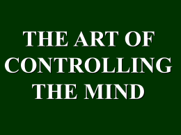 Art of Mind Control2.. - Krishna Prema