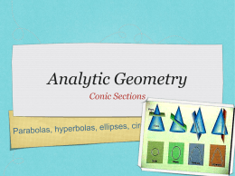 49. INTRODUCTION TO ANALYTIC GEOMETRY