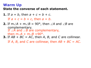 investigating geometry online homework 2-1 conditional statements