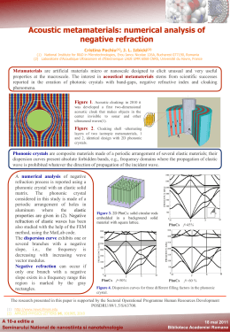 Acoustic metamaterials: numerical analysis of negative