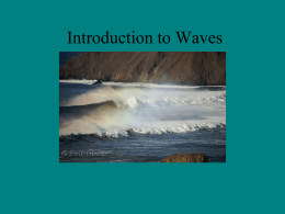 Introduction to Waves Notes
