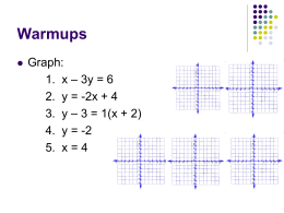 7-8 Graphing Inequalities with 2 Variables