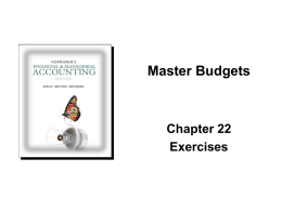 Ch22 - Accounting