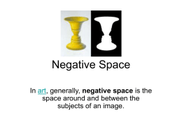 Negative Space Power Point