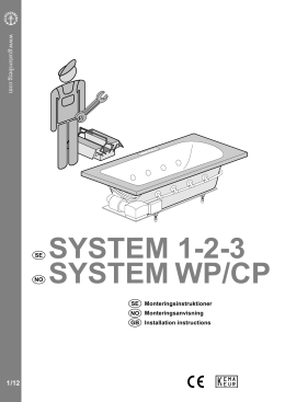 SYSTEM WP/CP SYSTEM 1-2-3