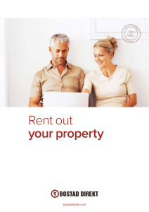 Rent out your property
