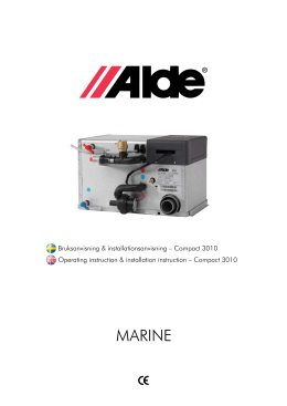 Marine - Alde International (UK)