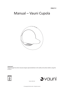 Manual – Vauni Cupola
