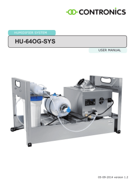 HU-64OG-SYS - Contronics Engineering BV