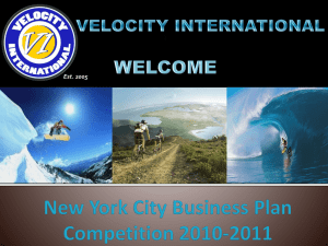New York City Business Plan Competition 2010-2011