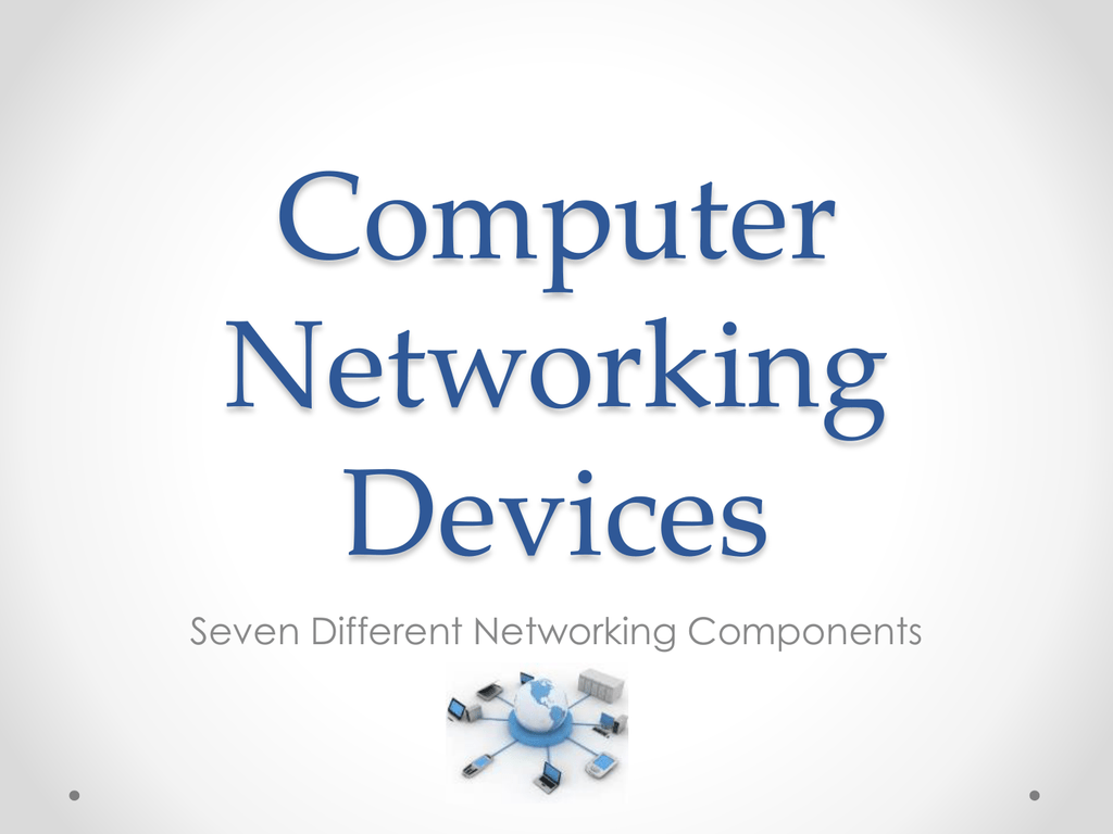 PPT network components