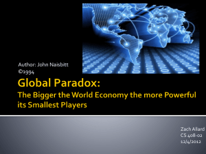 Global Paradox PowerPoint