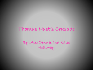 Thomas Nast`s Crusade