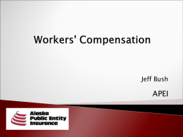 Workers` Compensation Claims Webinar