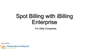 iBilling - Power BIlling App