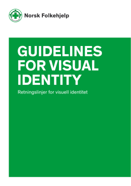 GUIDELINES FOR VISUAL IDENTITY