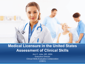 USMLE Clinical Skills