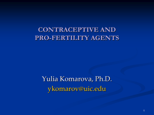 Contraception and Fertility Drugs