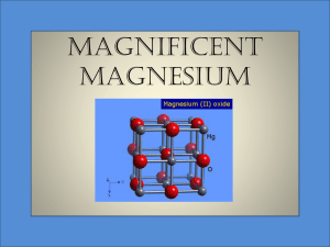 Magnificent Magnesium - Pennington Biomedical Research Center