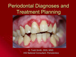 Public Health in Periodontics